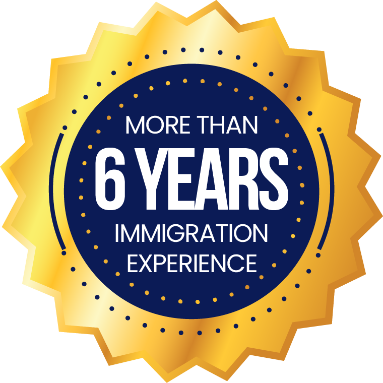 More Than 6 Years Immigration Experience
